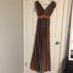 Multicolored Maxi Dress